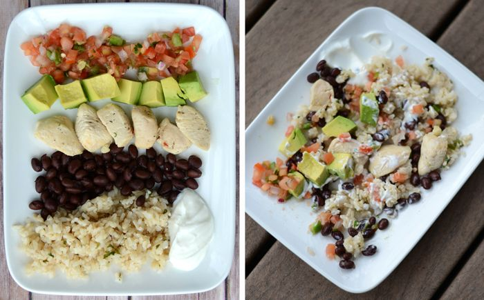 Copycat Chicken Burrito Bowl #glutenfree
