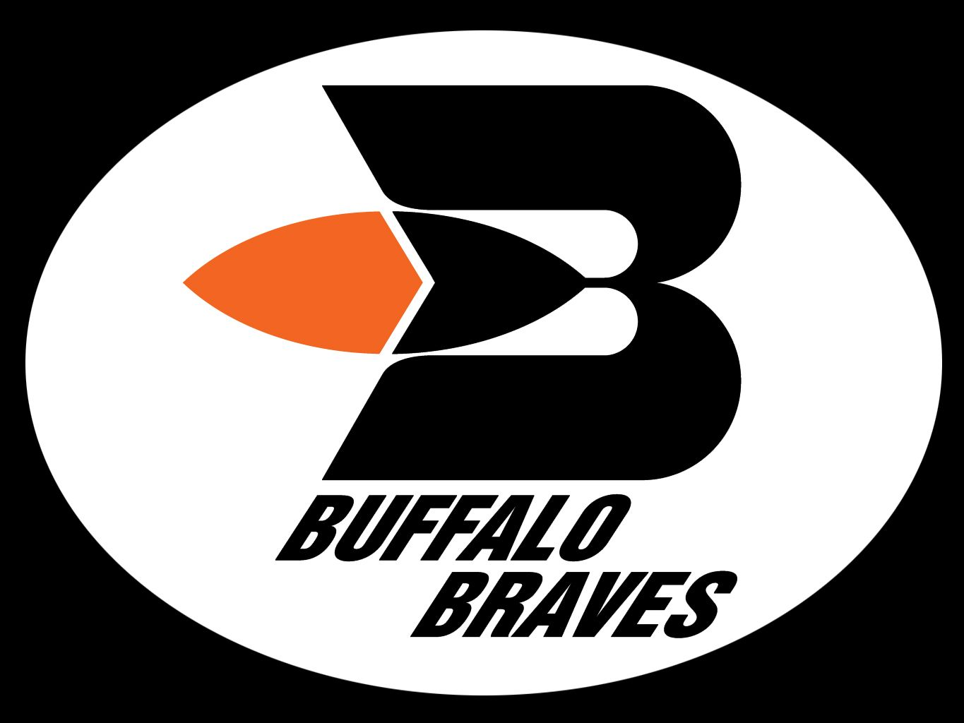 Buffalo Braves Logo Basketball Braves Buffalo New York
