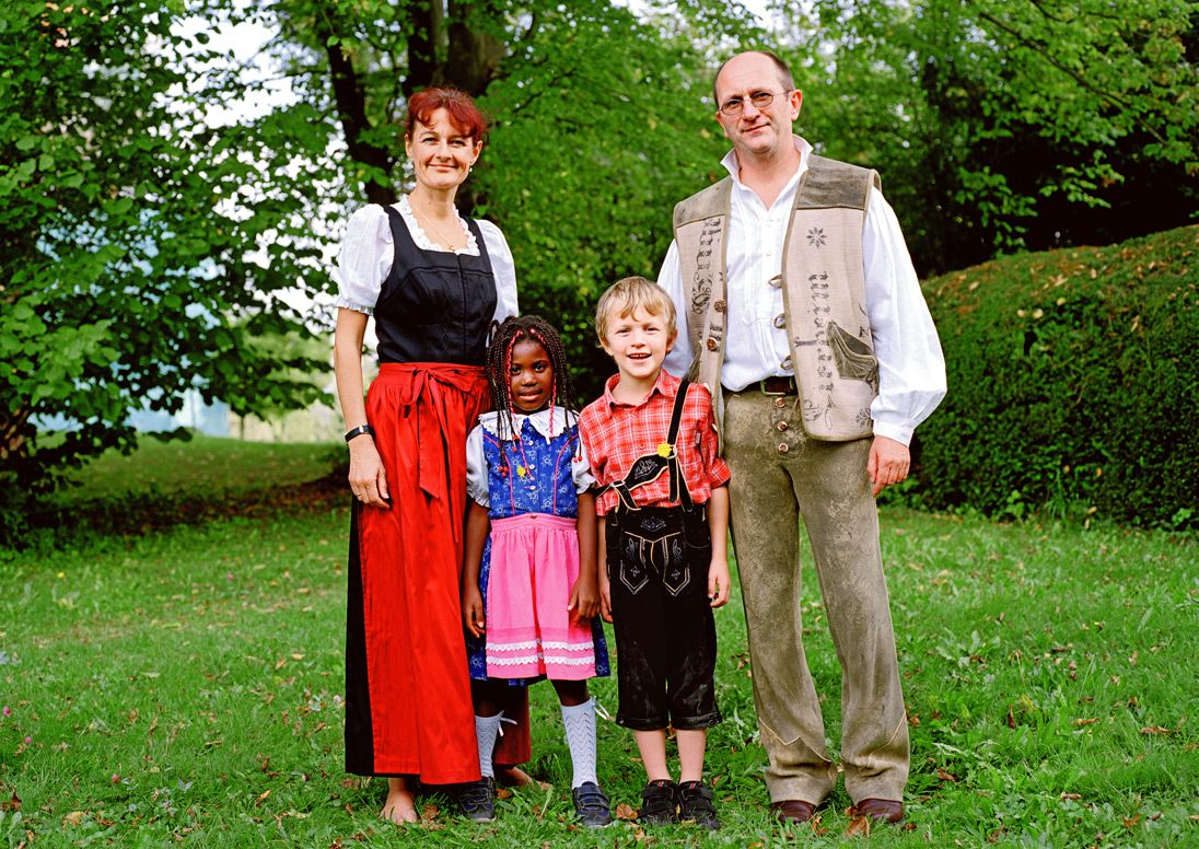 German Families CalvinDondonewgermanfamily1