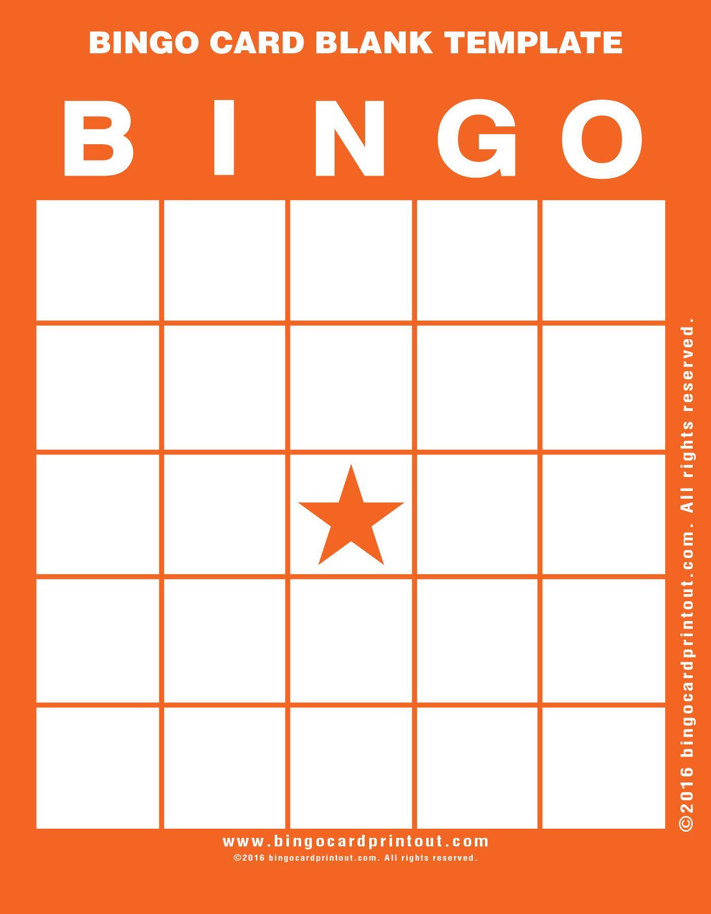 The breathtaking 009 Bingo Card Blank Template Stirring