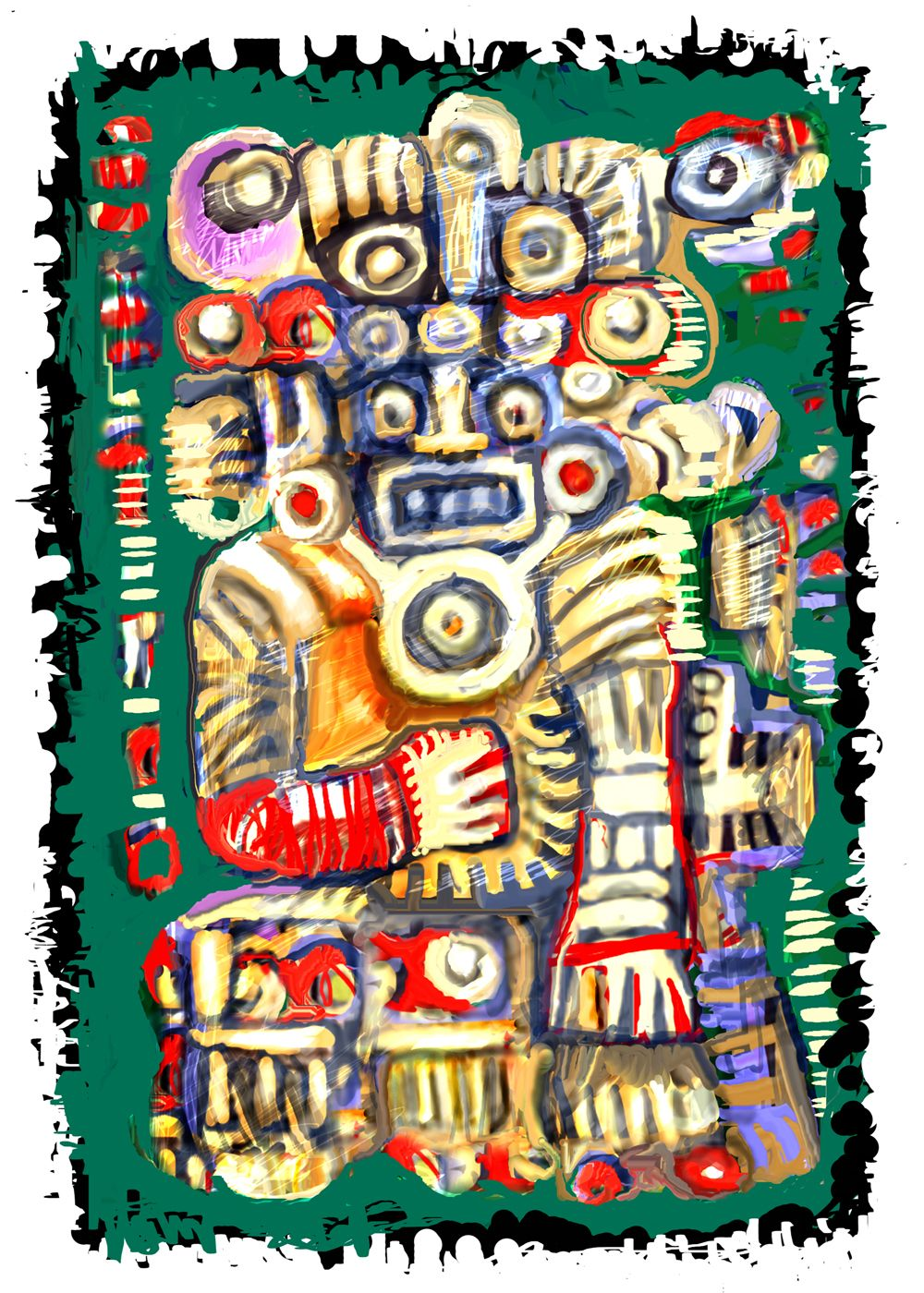 THE ALBRUNO'S UNIQUE DIGITAL ART... Digital painting by