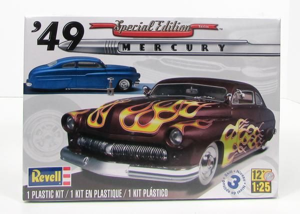 1949 Mercury Coupe Custom Top Chop 1:25 Revell 2860