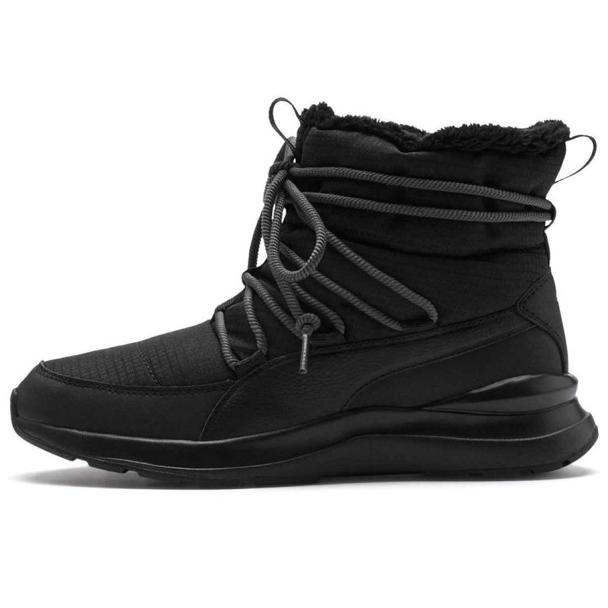 Buty Puma Adela Winter Boot W 369862 01 Czarne Winter Shoes For Women Puma Shoes Women Black Shoes