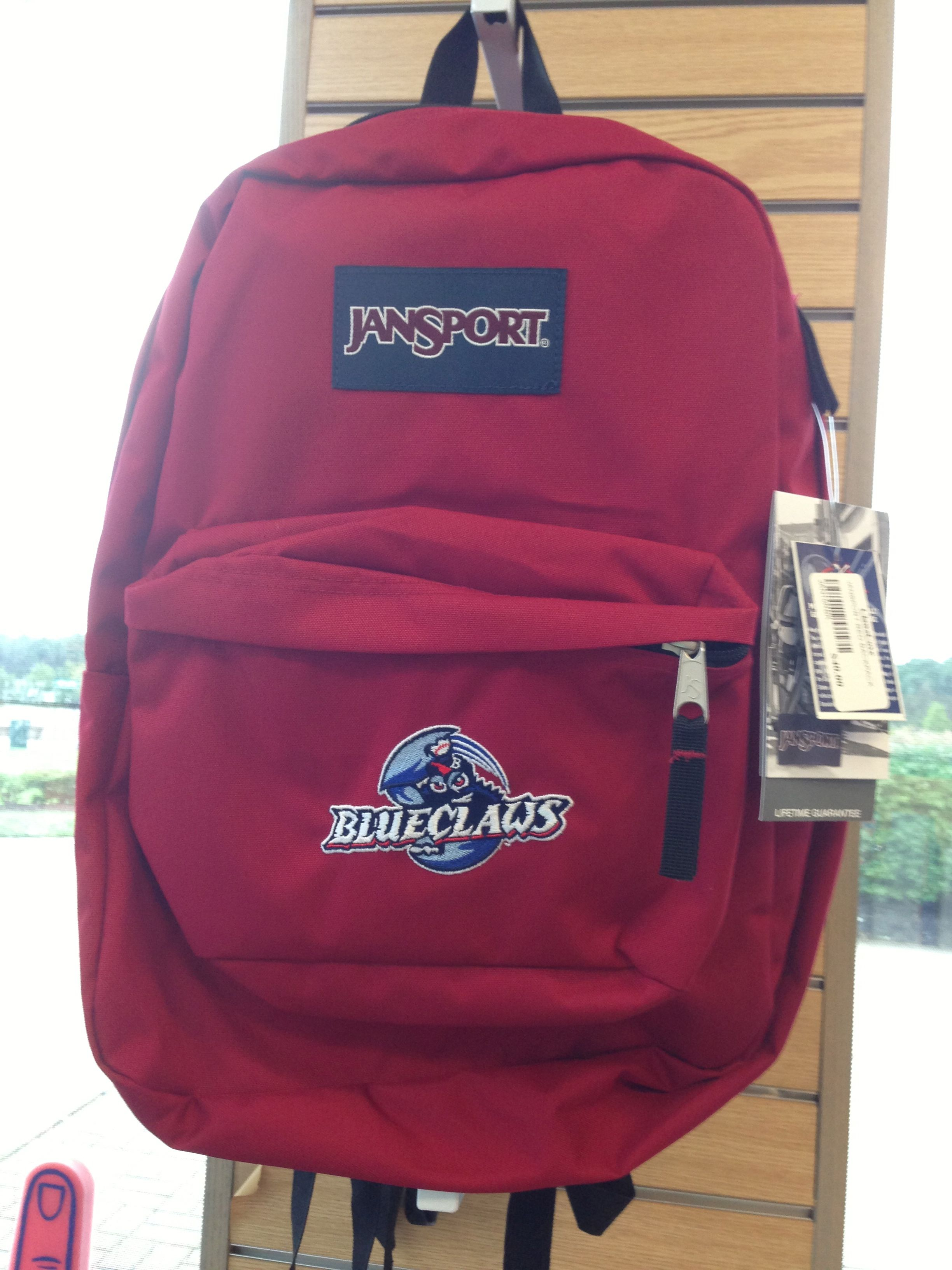BlueClaws backpack perfect for going back to school!