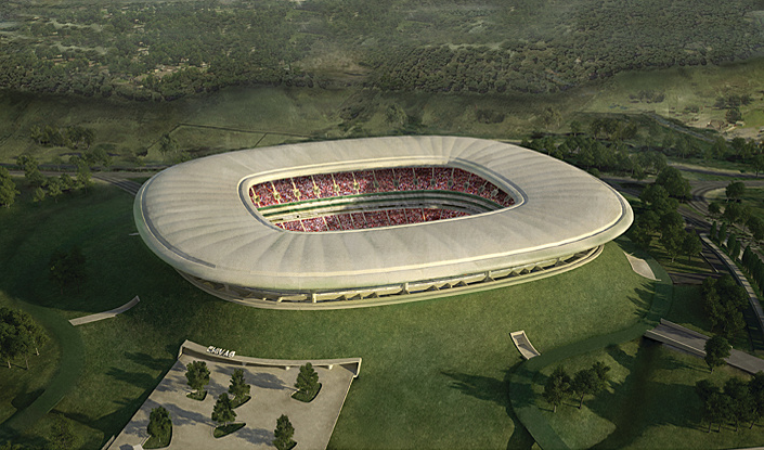 Volcano stadium - Jalisco - Wikipedia