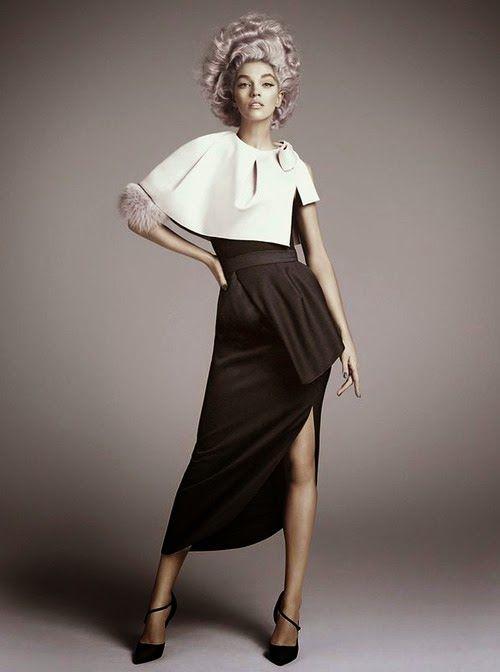 Perfect simple fashion pose.