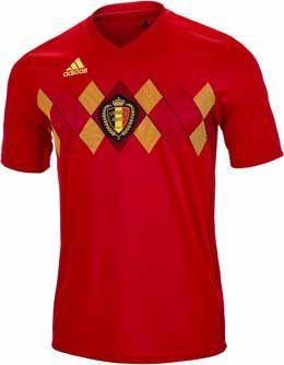 3c9c016a9 2017 18 adidas Belgium Home Jersey. Buy it from www.soccerpro.com
