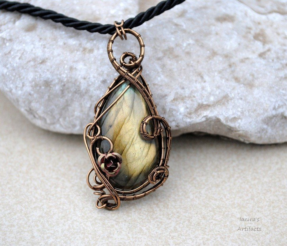 different ways to wire wrap crystals - Google Search   Creativity ...