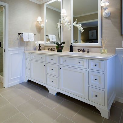 Double vanity - for future master bathroom Reno inspiration Master
