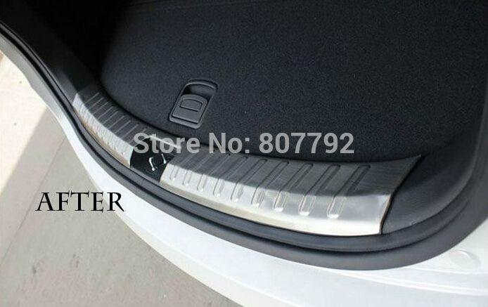 Stainless steel internal Scuff Plate Door Sill For Hyundai Santa Fe ix45 2013