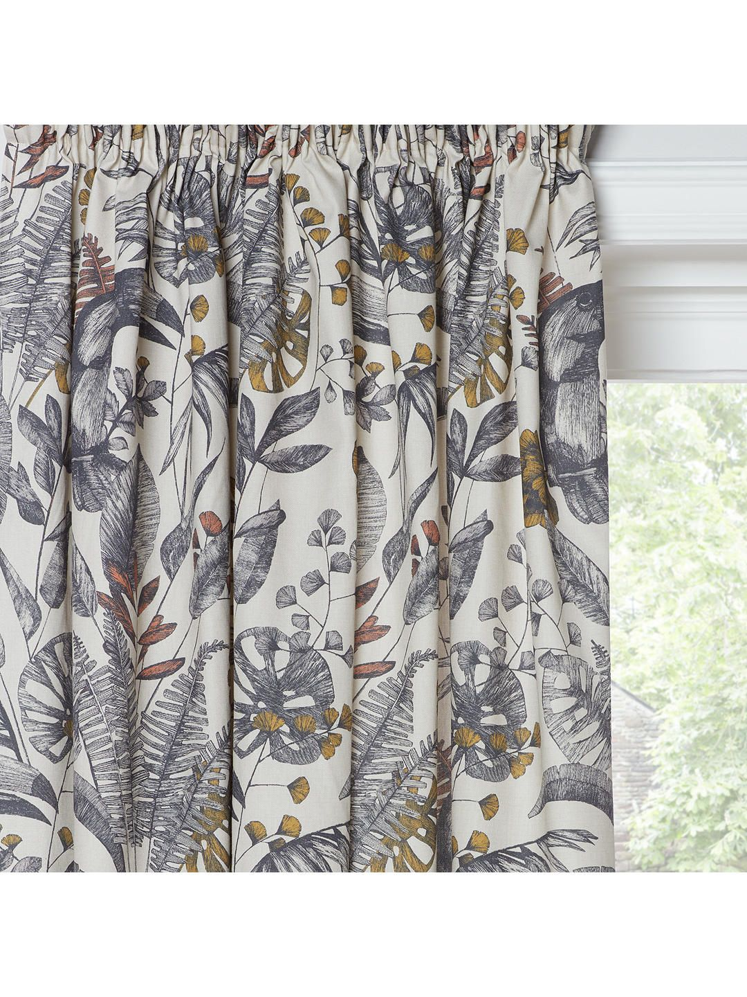847269440f8c BuyJohn Lewis & Partners Ipanema Pair Lined Pencil Pleat Curtains, Natural,  W167 x Drop 137cm Online at johnlewis.com
