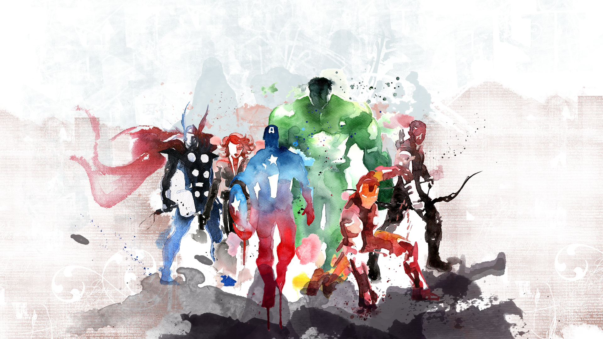 Best The Avengers Wallpaper 47044 Avengers Painting 640 x 480