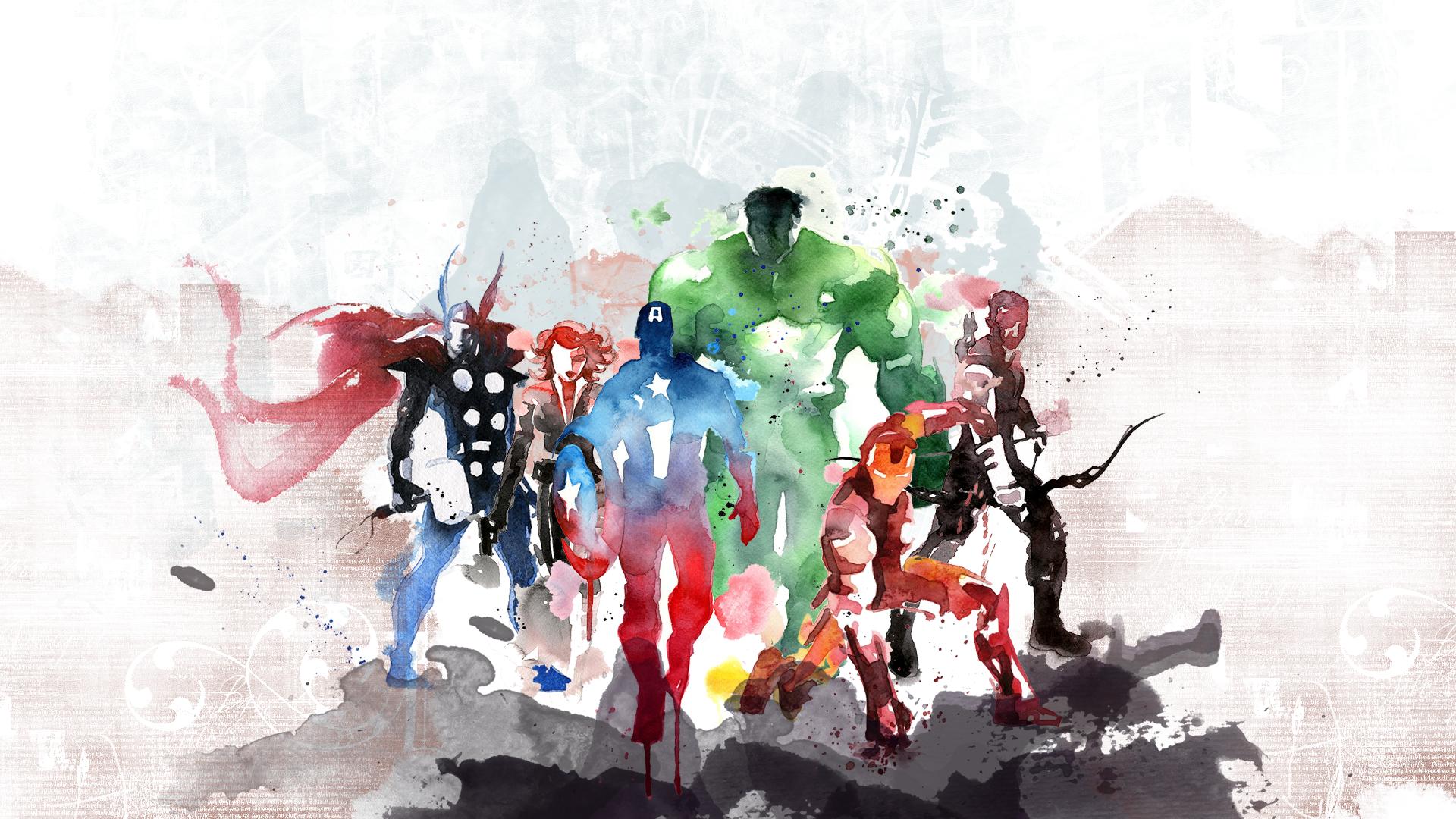 Avengers Wallpaper: The Avengers Wallpaper #47044