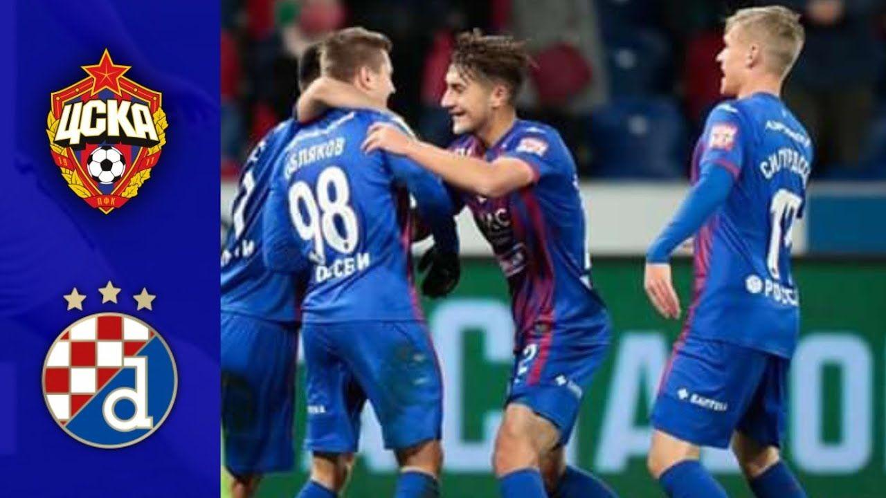 Highlights Cska Moscow Vs Dinamo Zagreb Cskamoscow Dinamozagreb Zagreb Moscow Football Gif