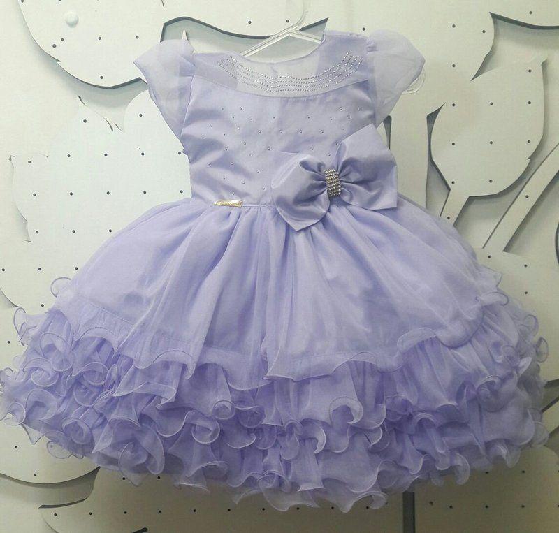 Vestido Infantil Princesa Sofia Realeza Lilás Tam 1 Ao 3