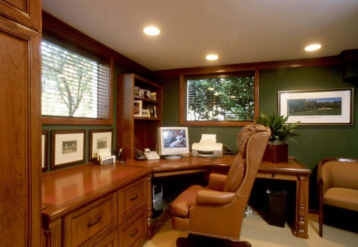 cool home office ideas mixed. Awesome Small Space Home Office Ideas With Luxury Brown Wood Computer Desk Complete Drawer And Cool Mixed T