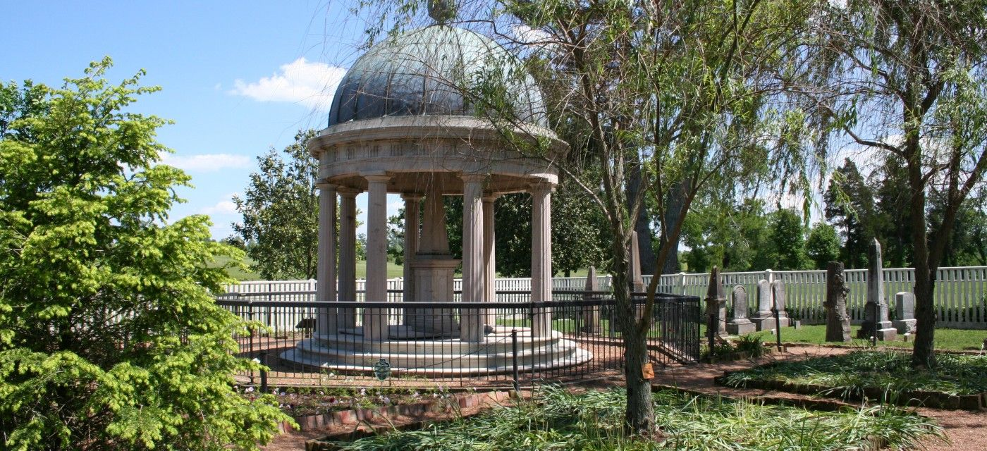 Andrew Jacksons Tomb In Hermitage Garden, Hermitage, Tn.