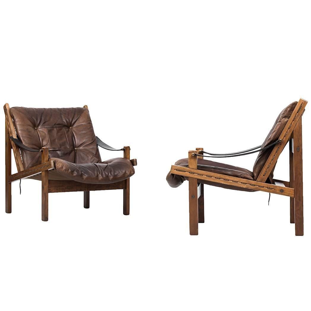 Wooden easy chair models - Torbj Rn Afdal Easy Chairs Model Hunter By Bruksbo In Norway