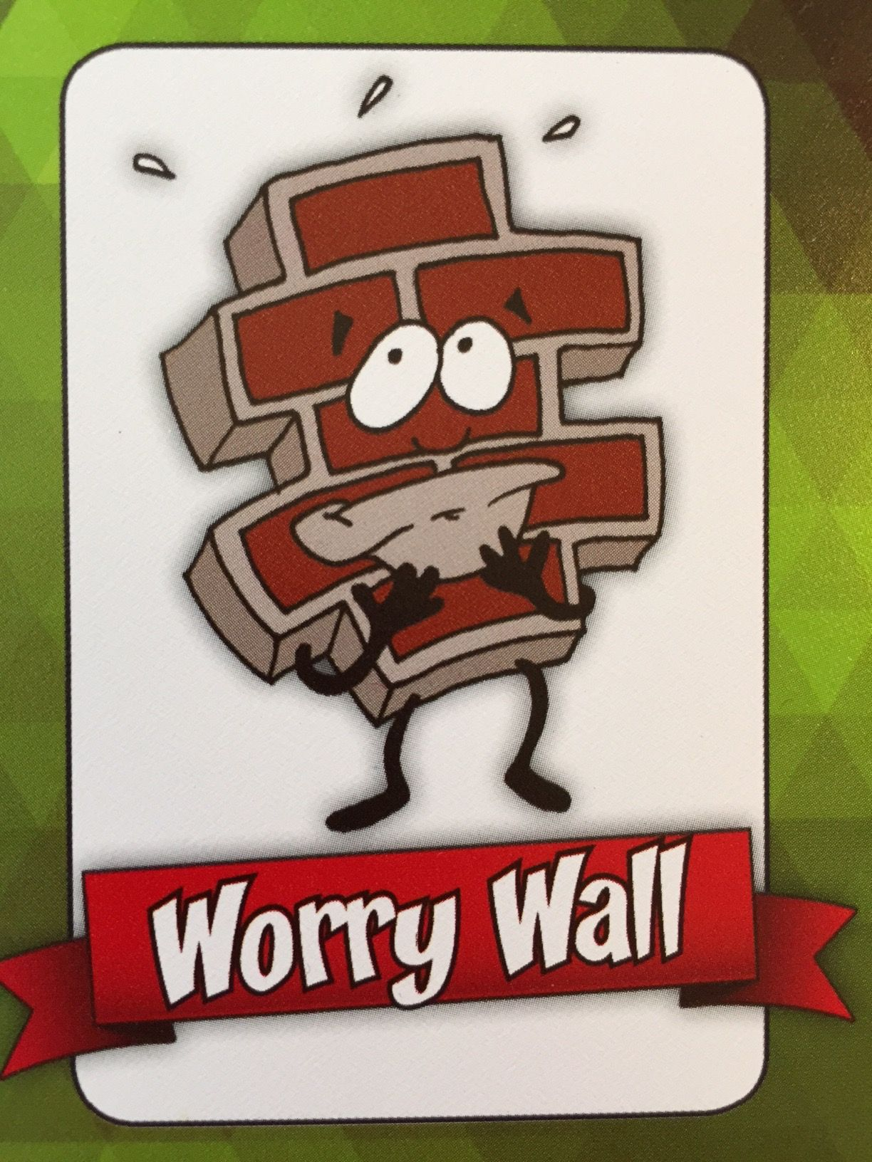 Worry Wall I Make People Worry Too Much