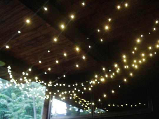 Awesome Simple Green: LED Lights For The Patio