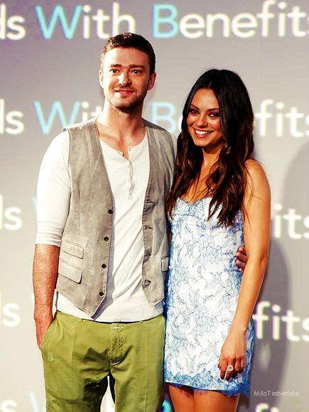 Justin Timberlake and Mila Kunis deny hacked phone rumors