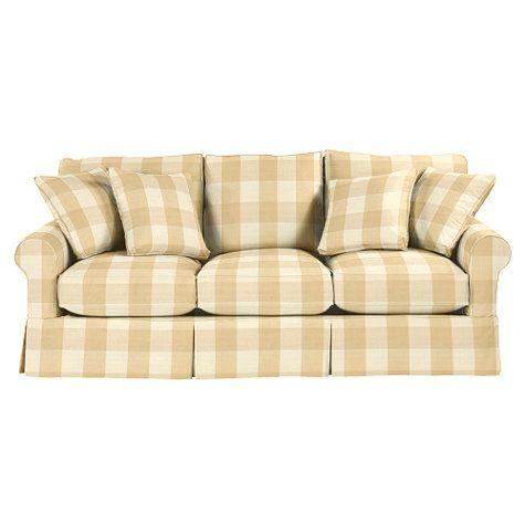 Baldwin Sofa Slipcover   Special Order Fabrics