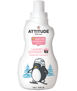 Attitude Little Ones Laundry Detergent Fragrance Free Baby