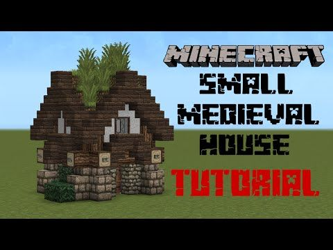 Minecraft Medieval house tutorial YouTube Minecraft