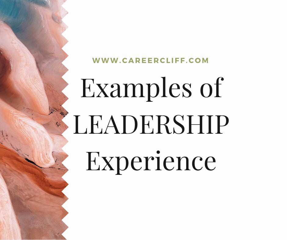 Star Method Resume Examples Lovely Examples Of Leadership Experiences With Star Method On Resume Career Cliff Resume Examples Resume Job Resume Examples