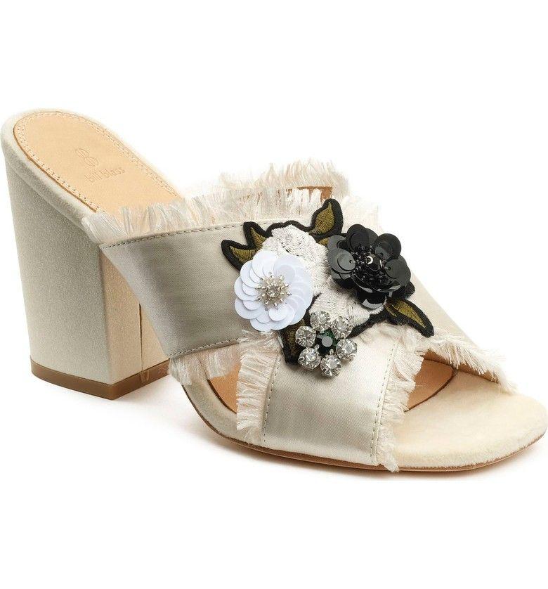 Bridal Shoes At Nordstrom: Bill Blass Carol Sandal (Women