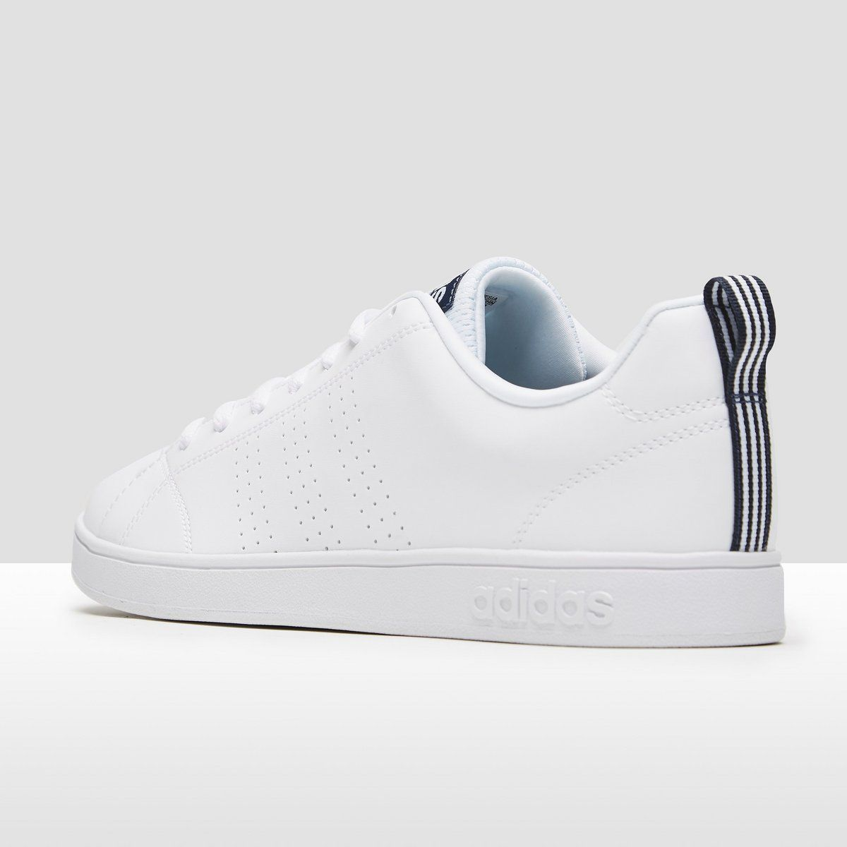 ADIDAS ADVANTAGE CLEAN SNEAKERS WIT/BLAUW DAMES | Sneaker ...