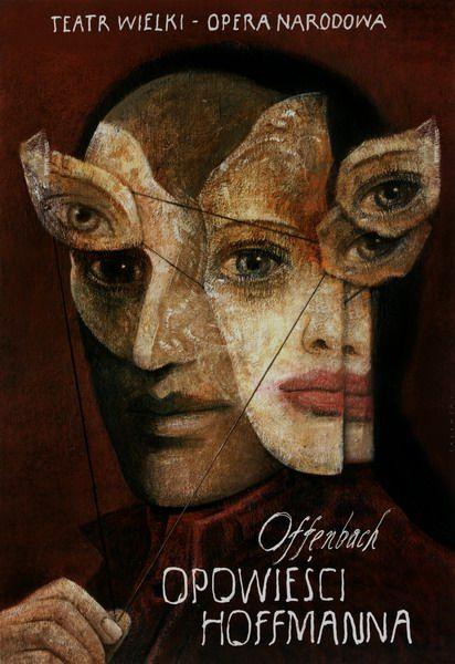 The Tales of Hoffmann, Sadowski Wiktor, Polish Poster, 2007