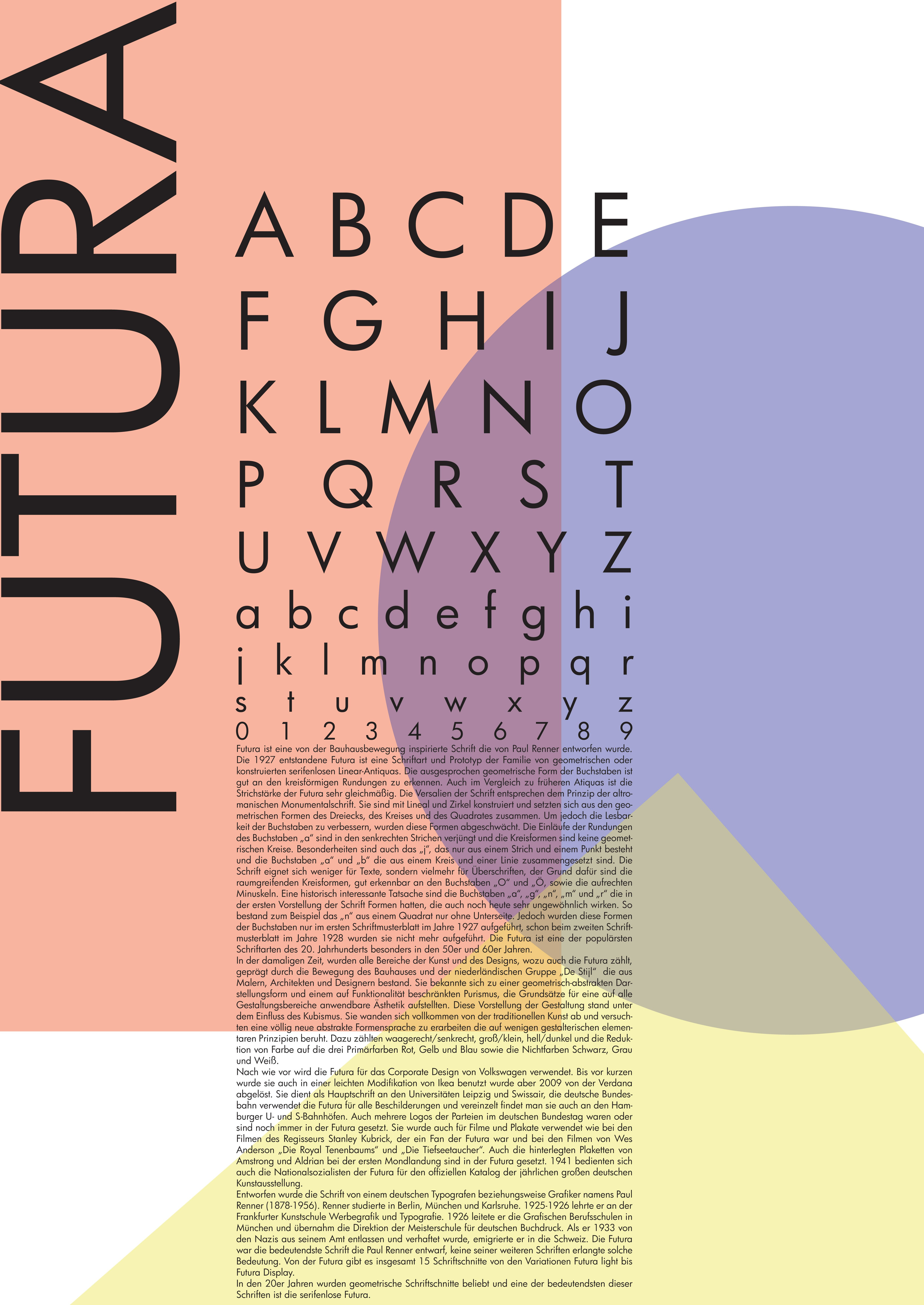 futura poster Google 검색 Typography Futura