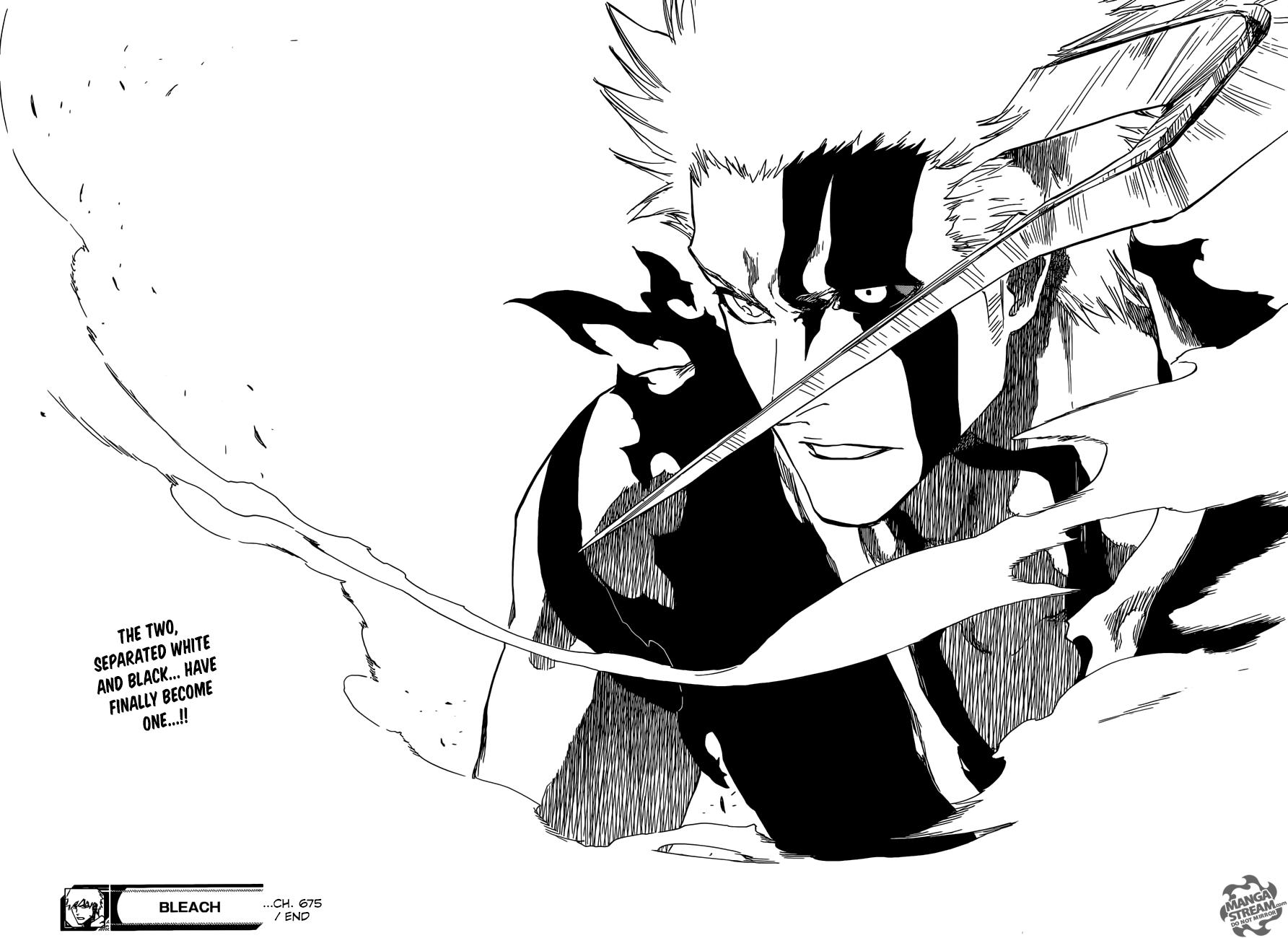 Read manga bleach 675 blood for my bone online in high quality
