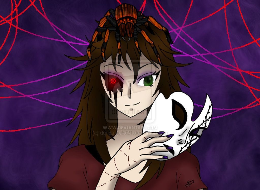 Ii Nemesis Creepypasta Oc Fan Art Ii By Proxybecca1