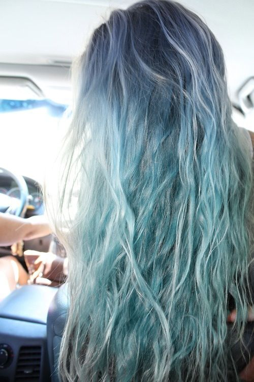 I Really Want This Washed Out Blue Hair Look 3 So Awesome Beach