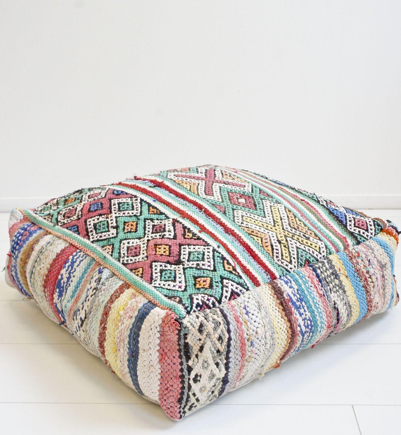 pillows floor moroccan el cushion beni hamra ourain ramla en pillow