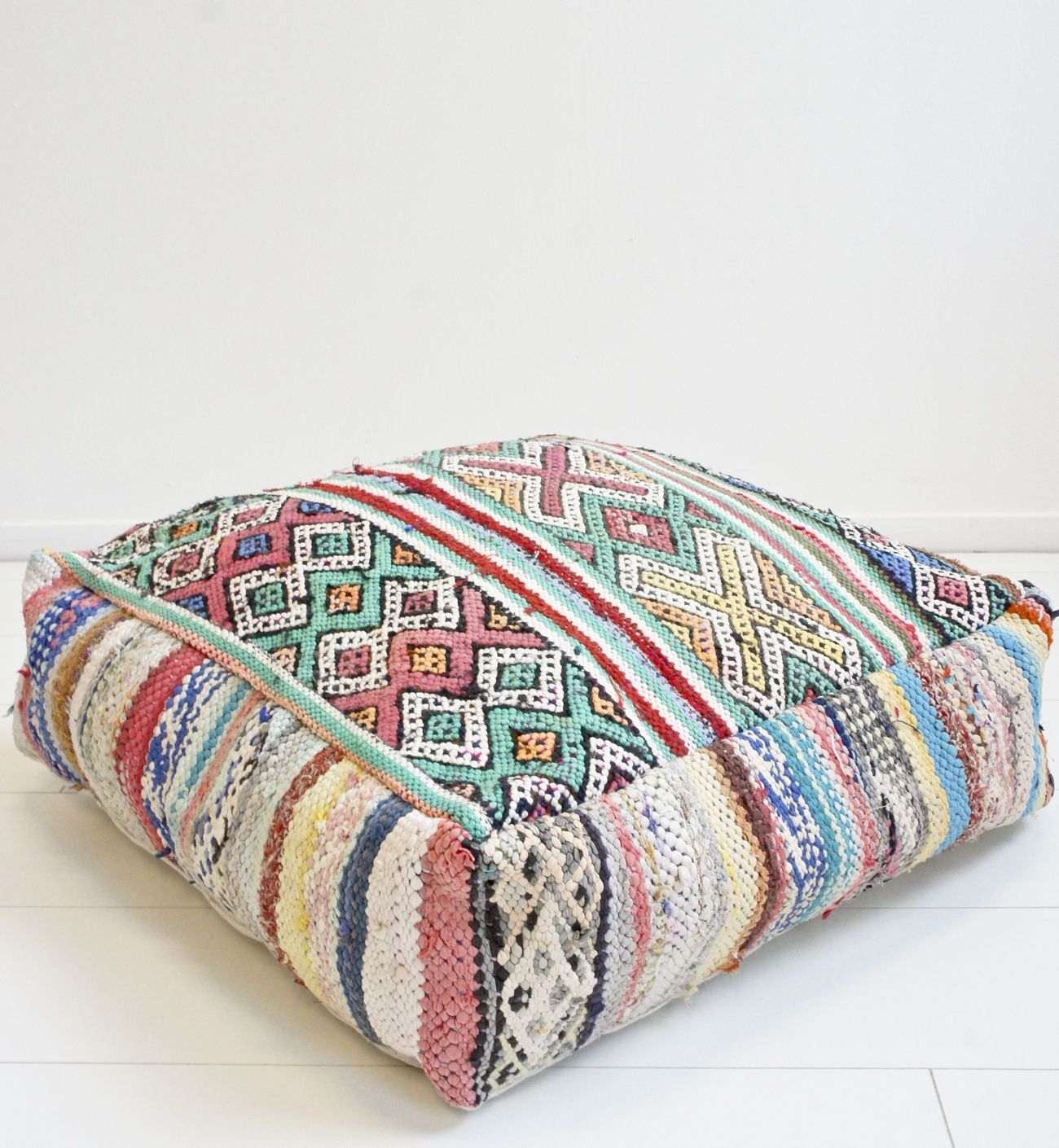 colorful furniture floor moroccan pillows patina pillow