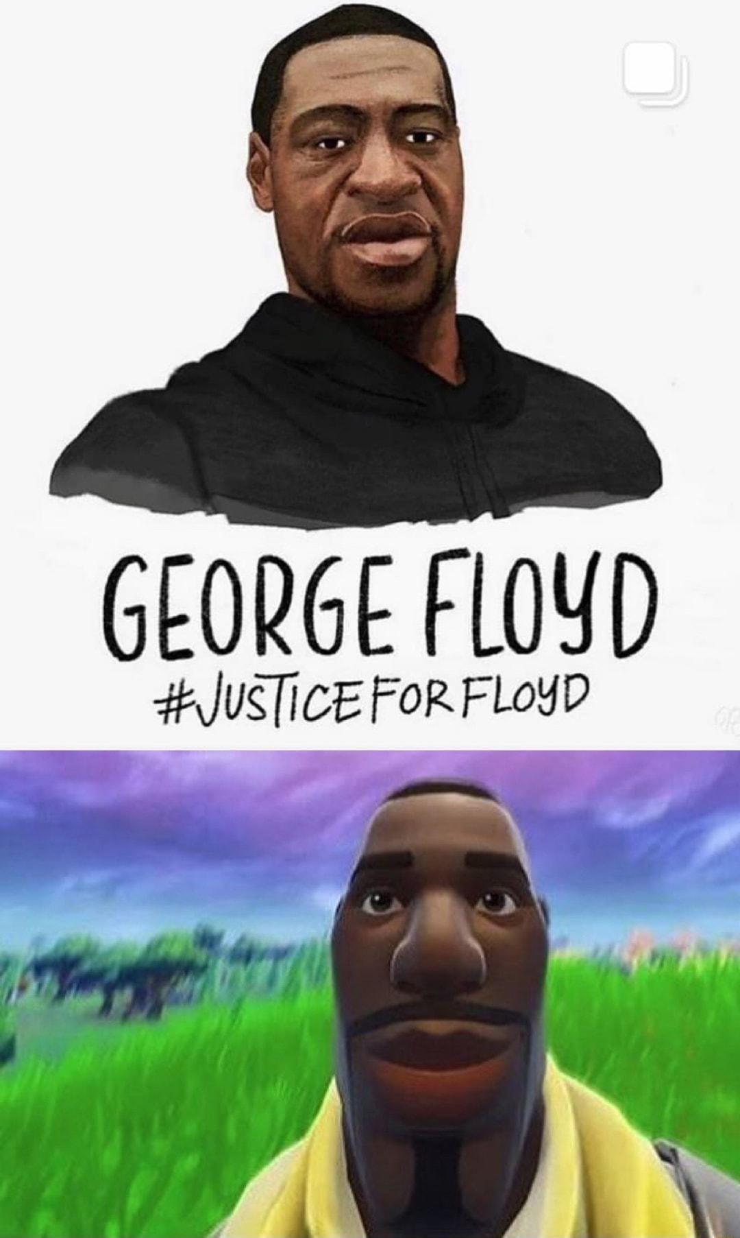 George Floyd Default Fortnite Guy Staring Default Fortnite Guy In 2021 Fortnite Guys George