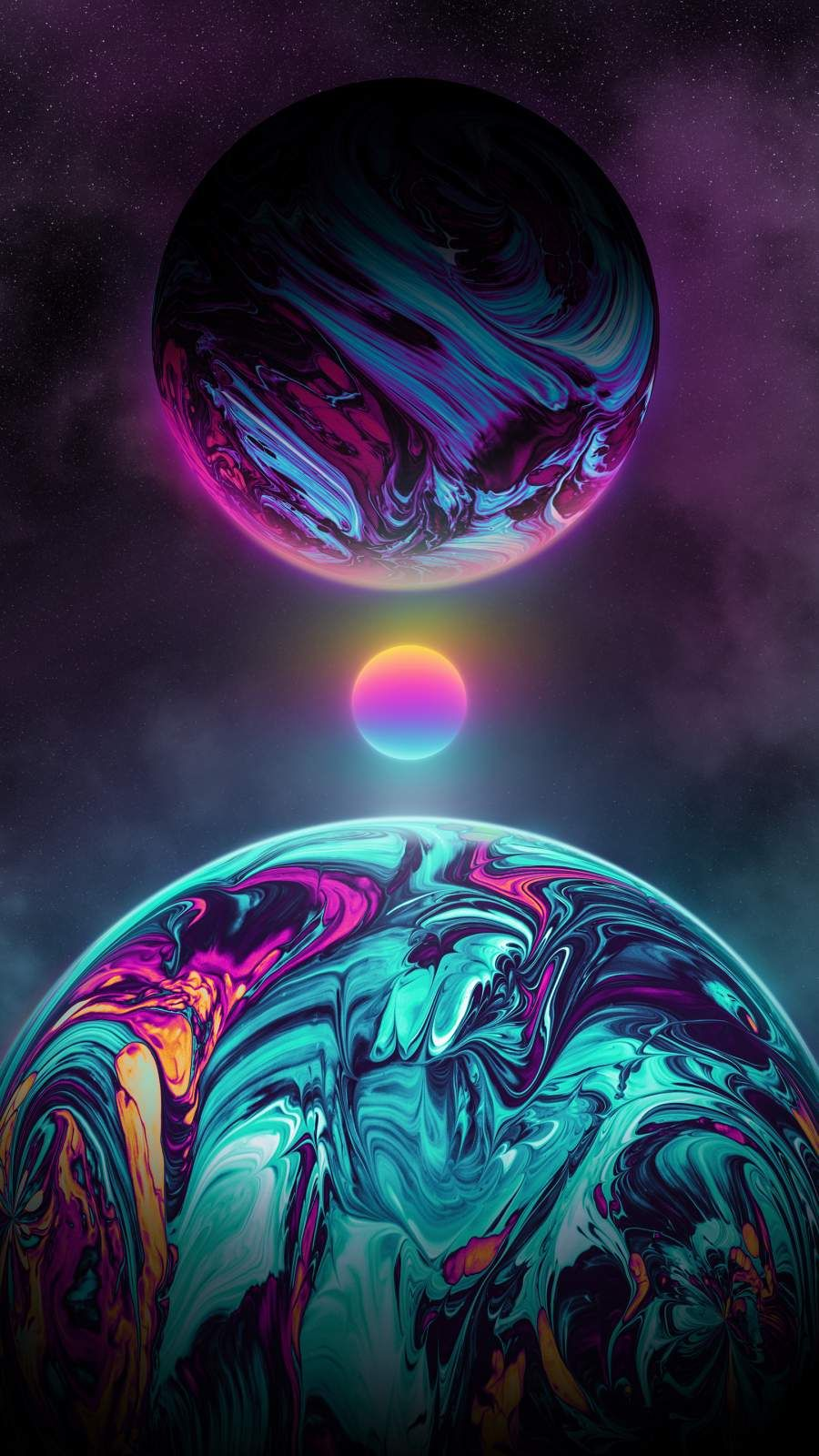 Art of Space iPhone Wallpaper - iPhone Wallpapers