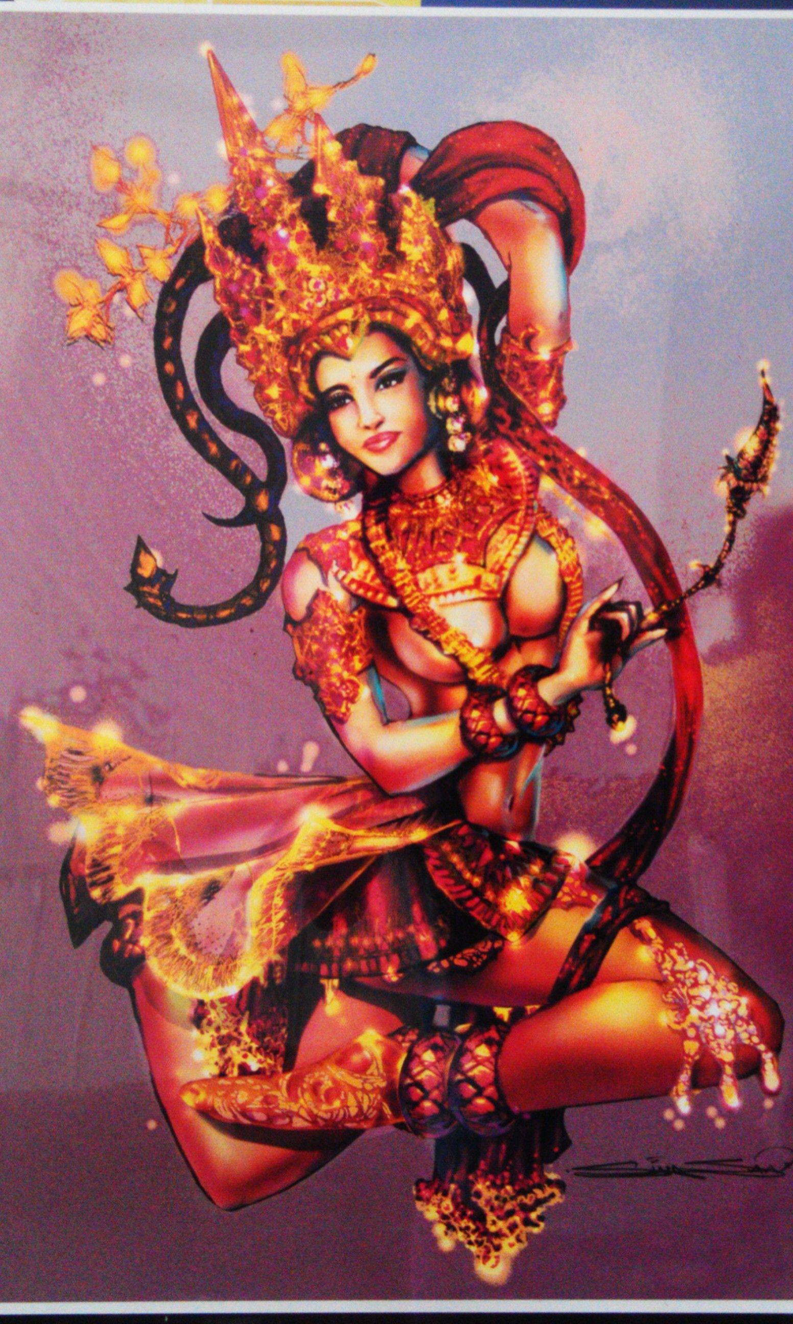 Apsara (art by Sina San)   Tattoos   Pinterest   Tatt and ...