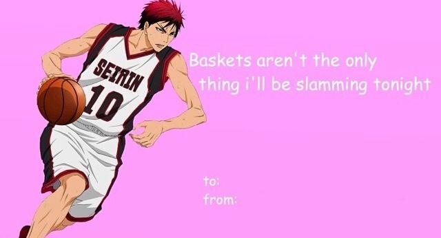 Anime valentine card Hahahhaha Kurokos Basketball – Anime Valentines Card
