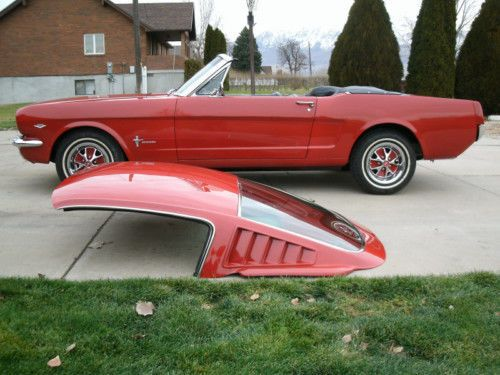 65 Mustang Parts >> 1964 1965 1966 64 65 66 Mustang Fastback Roof For Convertible And