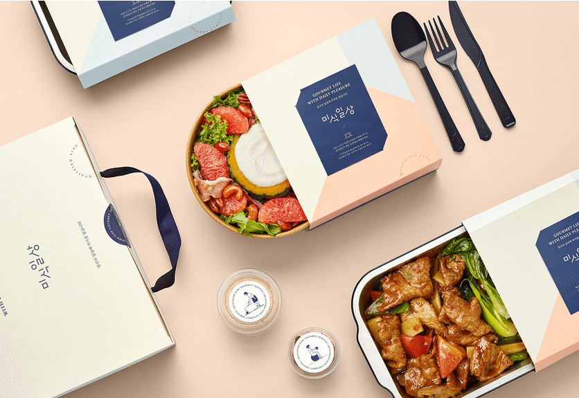 18 Perfect Food Packaging Ideas For Your Inspiration Food Packaging Food Packaging Design Food Delivery Packaging