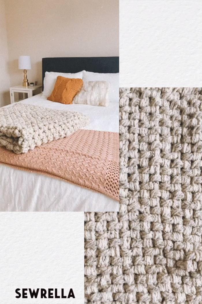 Crochet Stitch - Mini Basketweave