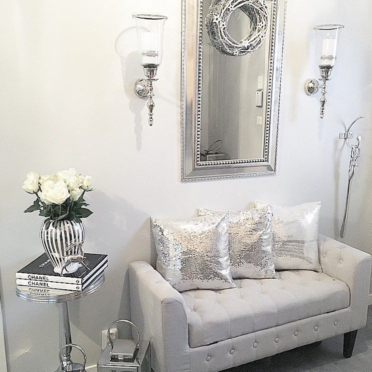 "@ decor_d1 auf Instagram: ""#silber #white #home #room # ..."