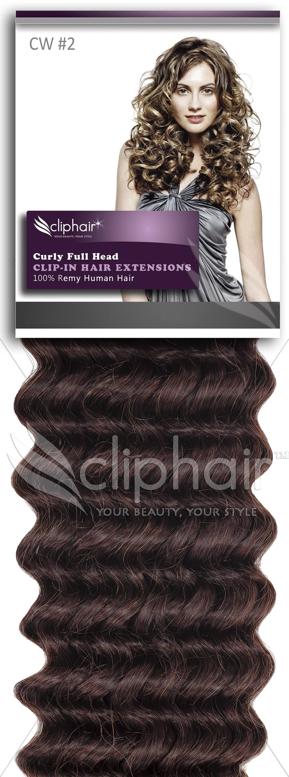 22 Inch Curly Full Head Remy Clip In Human Hair Extensions Shop