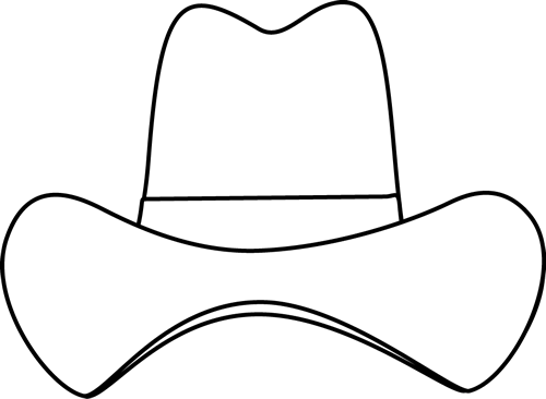 Black And White Simple Cowboy Hat Cowboyhatsdiy Cowboy Hat Crafts Cowboy Hats Cowboy