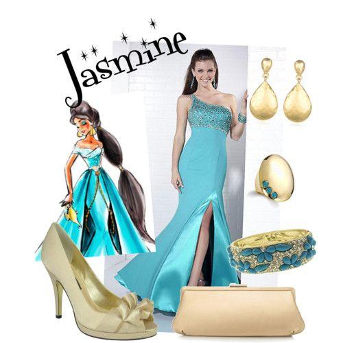 disney princess prom dresses - jasmine prom dress | prom ideas ...