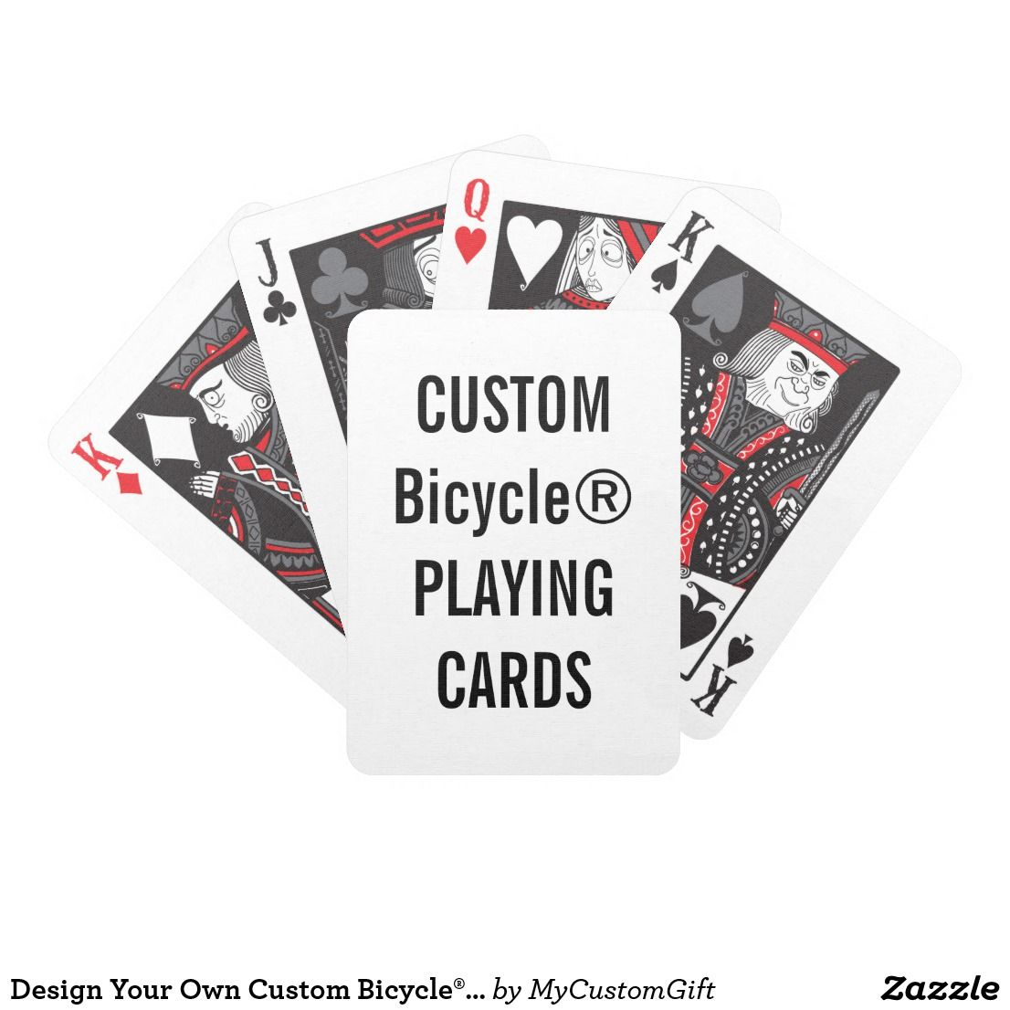 Your Own Custom Bicycle® Playing Cards